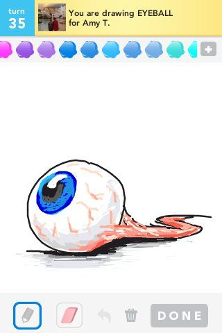 You Are Drawing Eyeball Draw Something In 2019 Pinterest
