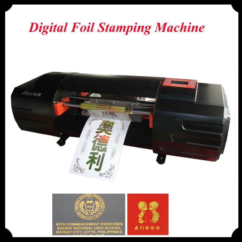 New Innovation Hot Foil Stamping Machine Digital Printing