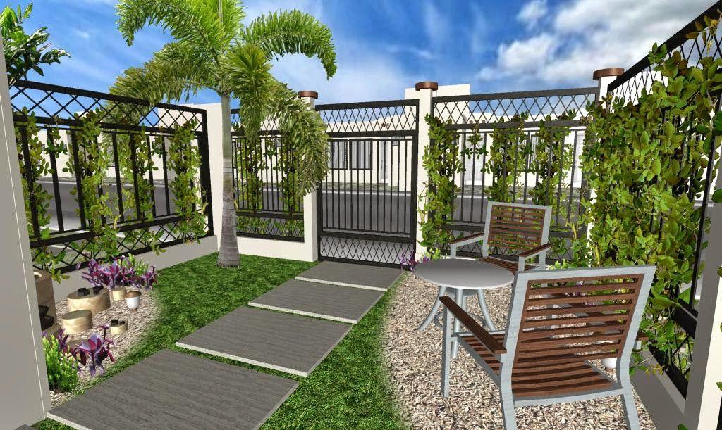 jardin-fachada-playadelsol-diseño3D-5.jpg (1024×611) | Gabriel ...