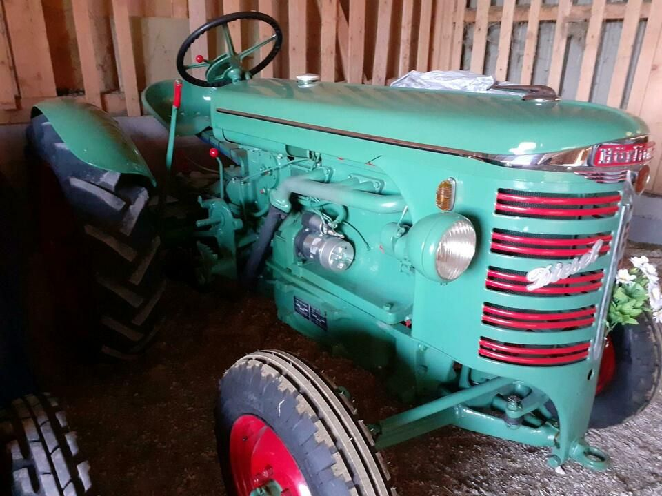 Hürlimann D60 Traktor Oldtimer in BadenWürttemberg