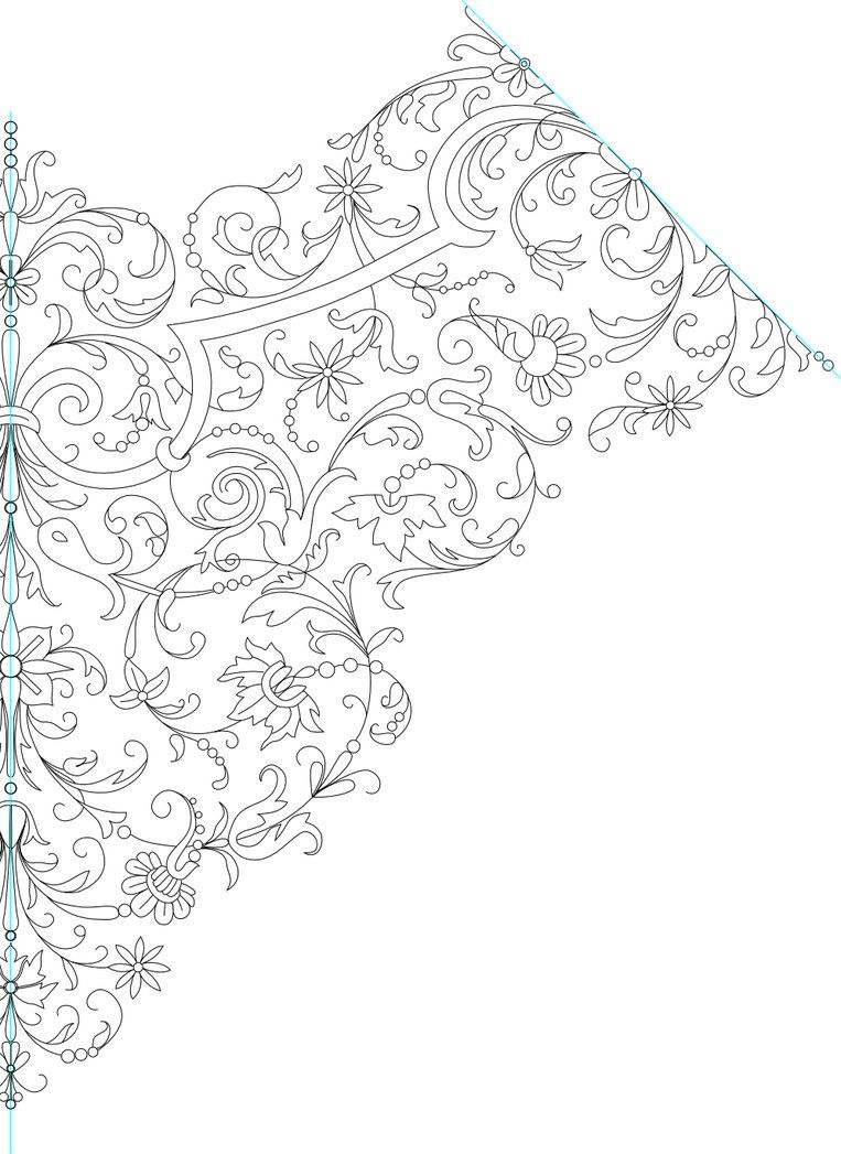 Handkerchief embroidery pattern lineart by kithplana on handkerchief embroidery pattern lineart by kithplana on deviantart bankloansurffo Image collections
