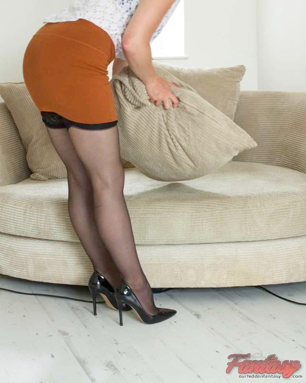 fetish friday #bentover #stockings #nylons #highheels #milf #hotmilf