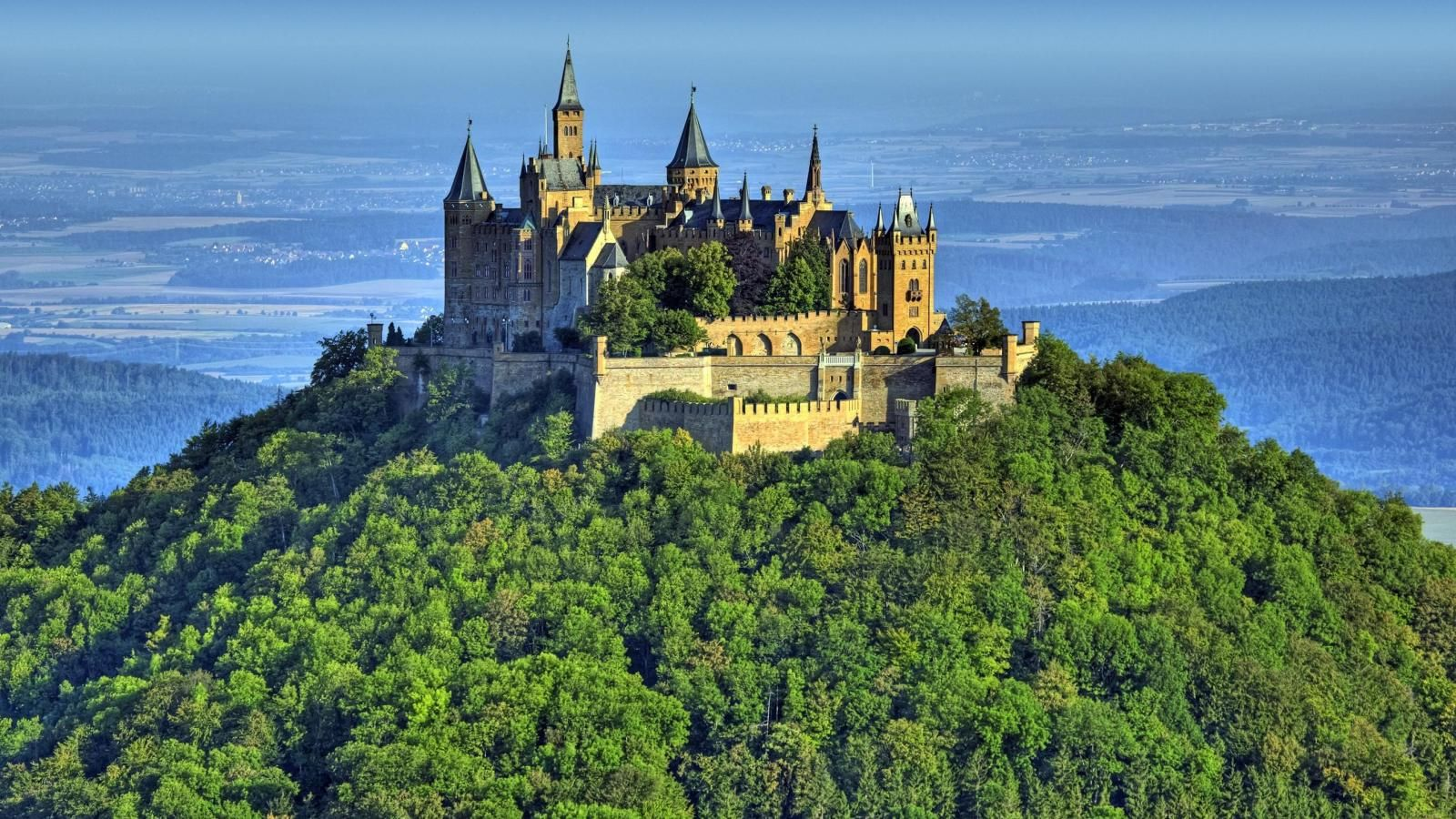 Https Hqwallbase Site Images Bigest 1600x900 Forest Building Hohenzollern Landscape Castle 185947 Jpg Deutschland Burgen Schloss Sigmaringen Burg