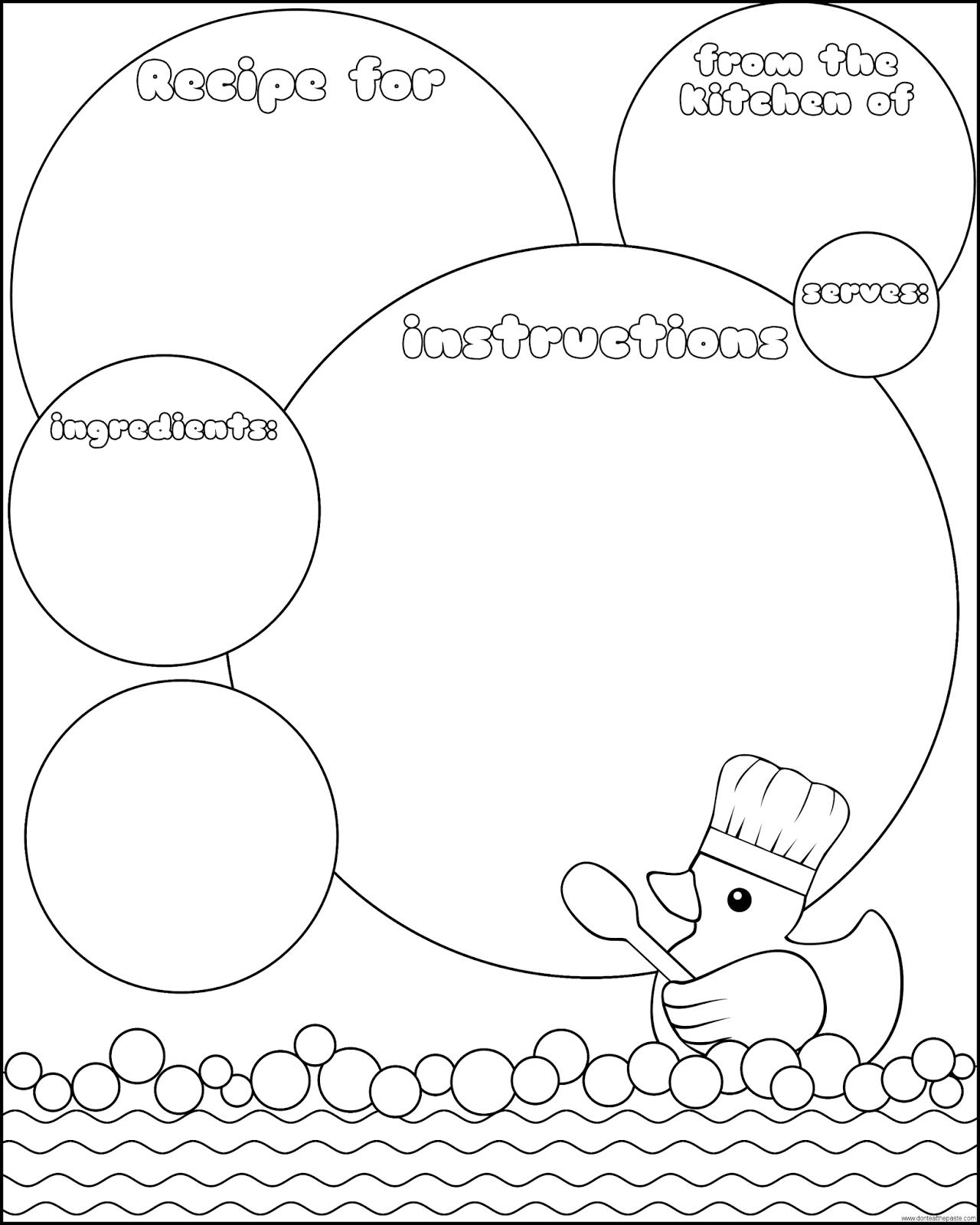 Rubber Duck Recipe Page