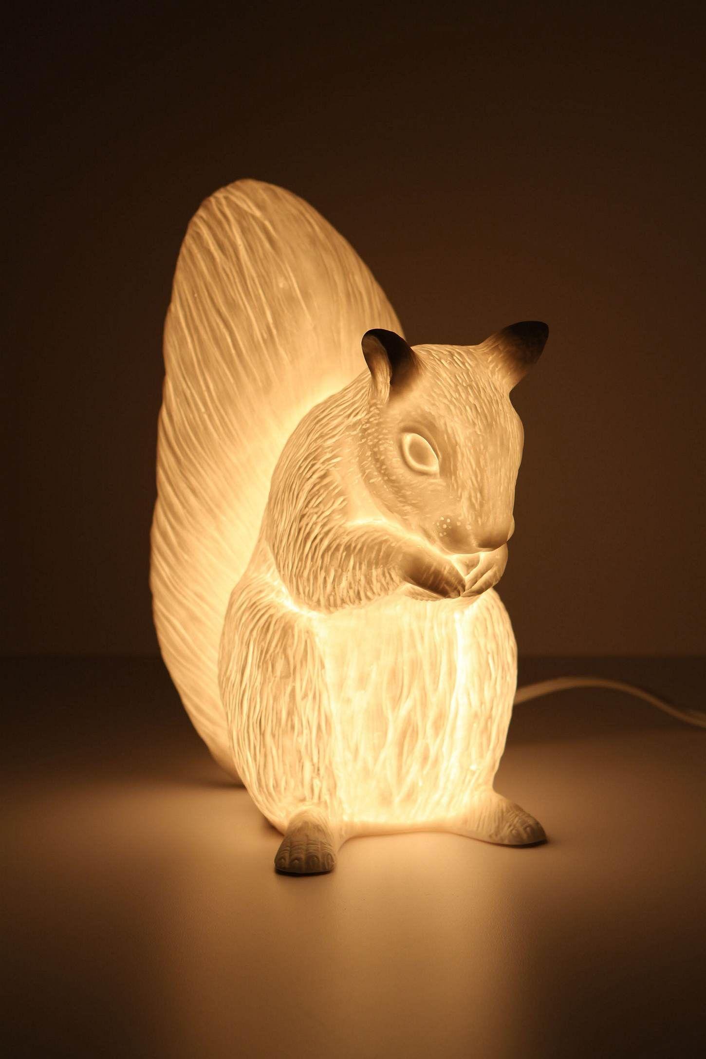 Delightful Squirrel Night Light