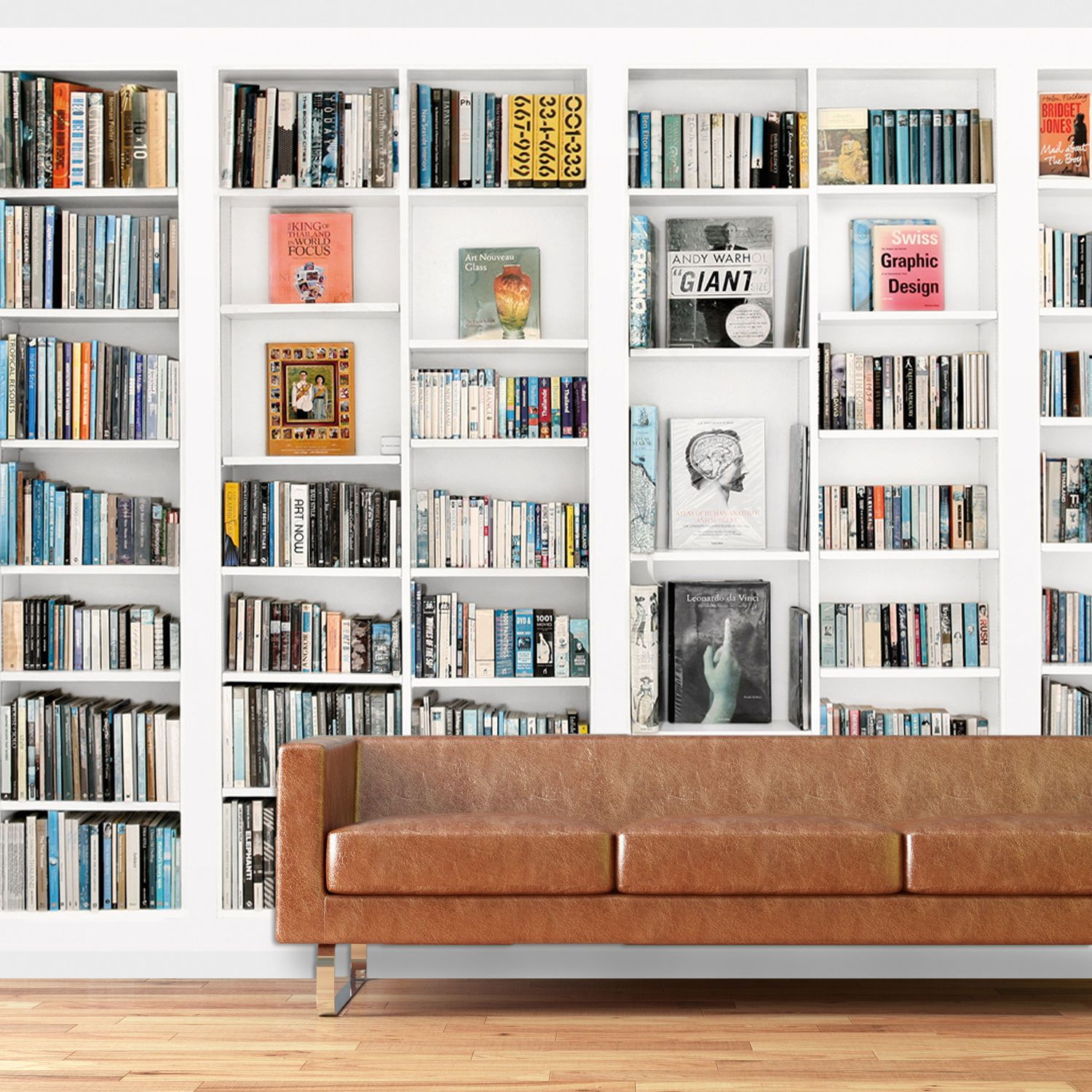 Large Photo Library Wallpaper Books Interior Art Wall Mural  # Bibliotheque Mural