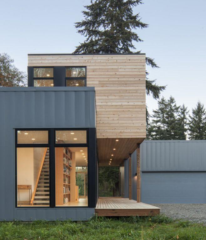 M s de 25 ideas incre bles sobre casas prefabricadas - Casa modulares modernas ...