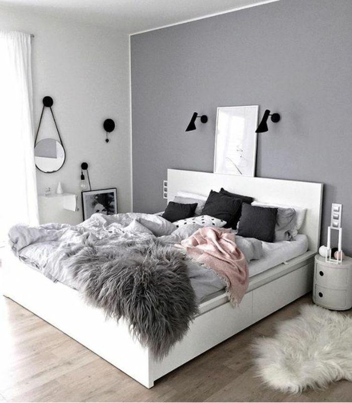 ▷ 1001+ Idées pour aménager en gris perle + les variantes dans - couleur tendance chambre a coucher