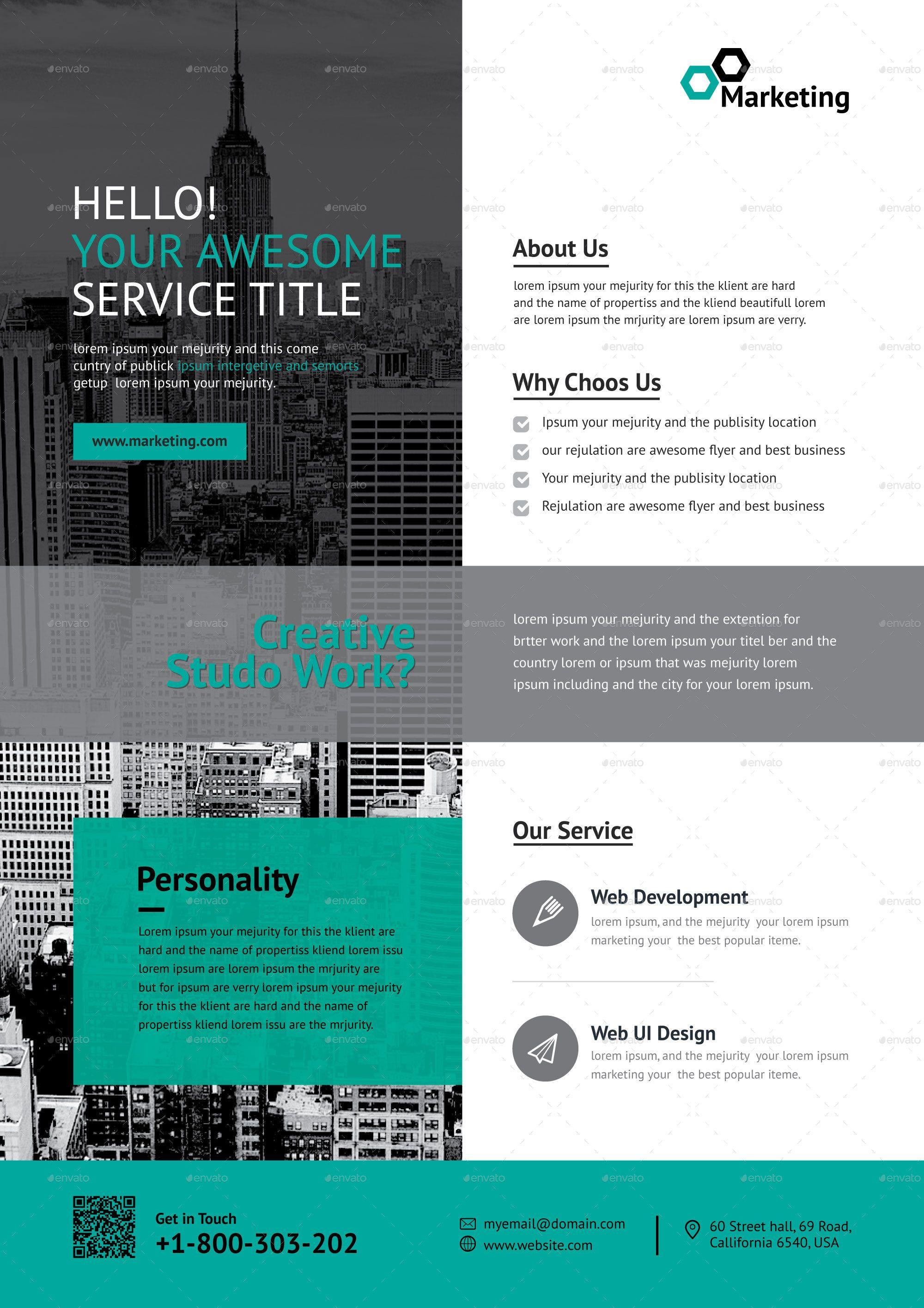 Business Poster Design Inspiration