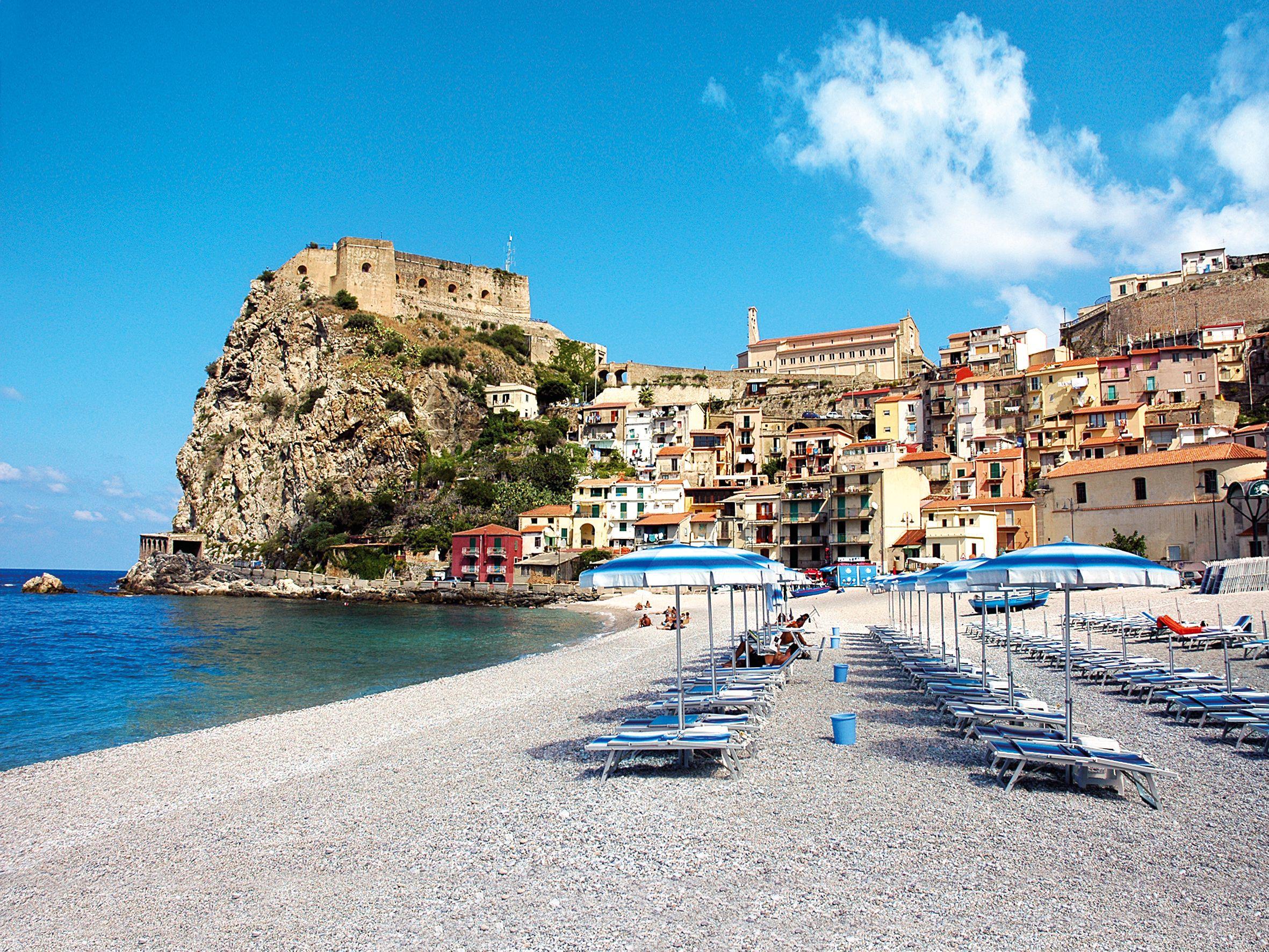Taormina, Sicilia Calabria italia, Italia, Sicilia