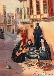 نتيجة بحث الصور عن لوحات عراقية للبيع Arabian art, Egyptian art, Eastern art