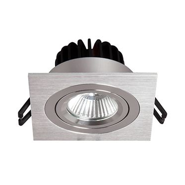 Empotrable De Techo Downlight Led 9w Cuadrada Leroy Merlin Led Focos Iluminacion Salon