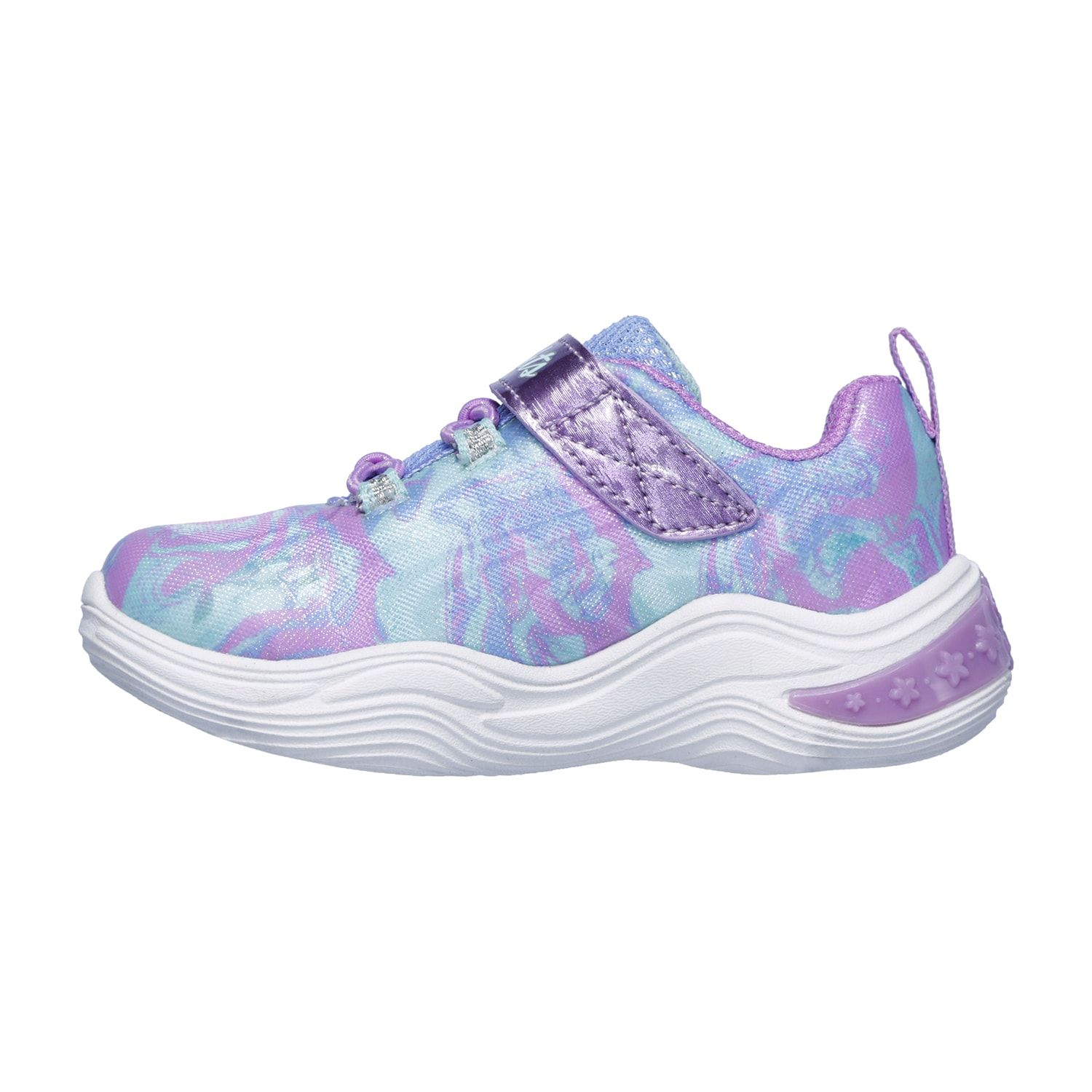 9c7bc769e1df Skechers S Lights Power Petals Toddler Girls  Light Up Shoes in 2019 ...