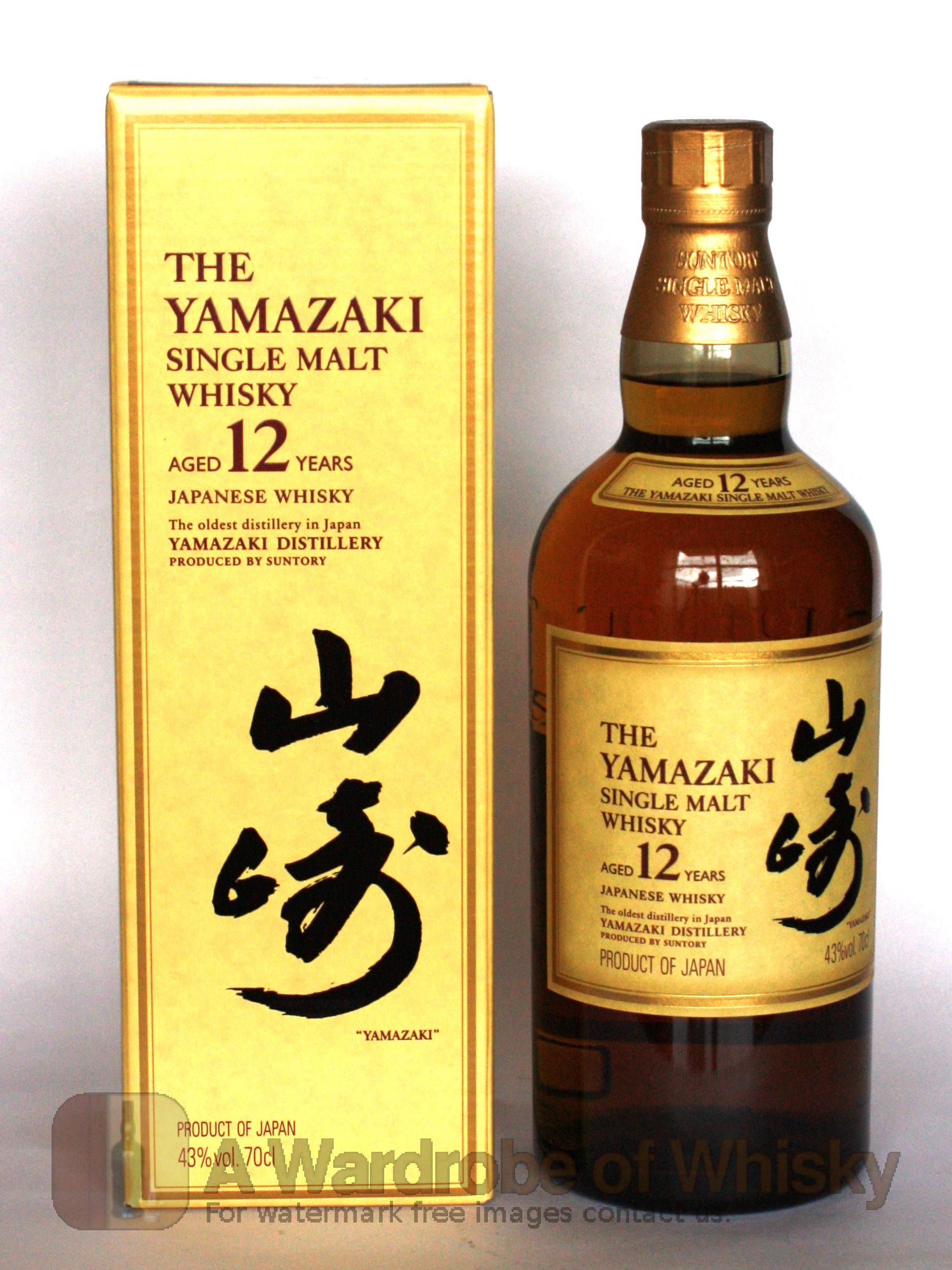 Suntory Yamazaki 12 Year Whisky Japanese Whisky Malt Whisky
