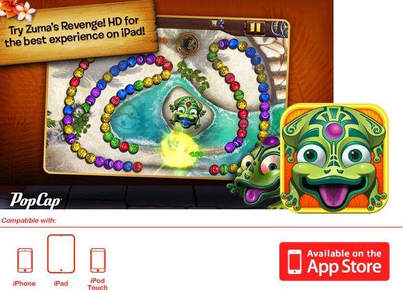 Zuma's Revenge! - iPhone/iPad | Best Apps
