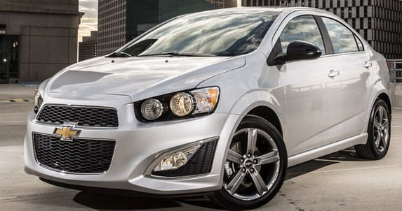 Autoblog Chevrolet Sonic Rs Sedan Autos Sonic