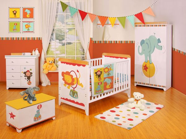 Baby Circus Room Theme Licensing By Hollei Keifer Via Behance