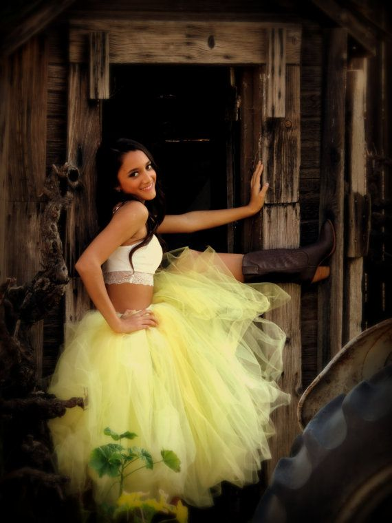 Adult Tutu Buttercup Yellow Tea Length Sewn For Women Wedding Bridal Tulle Skirt Prom Photo Prop