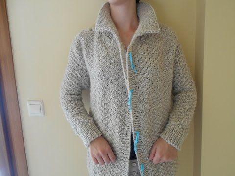 ffe95eee3725 Ζακέτα πλέξιμο-4 μέρος Ωμος - YouTube | Πλεκτά | Knitting, Sweaters ...