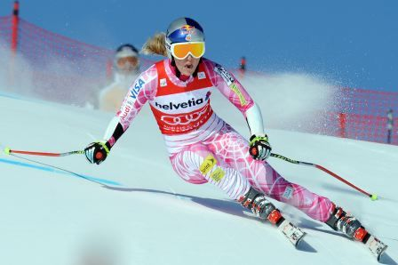 Lindsey Vonn...another amazing female athlete