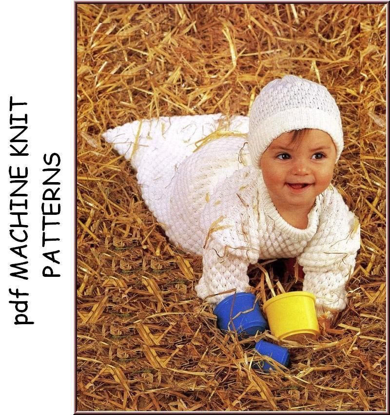 Brother Machine Knitting Patterns For Babies Children Special Cd