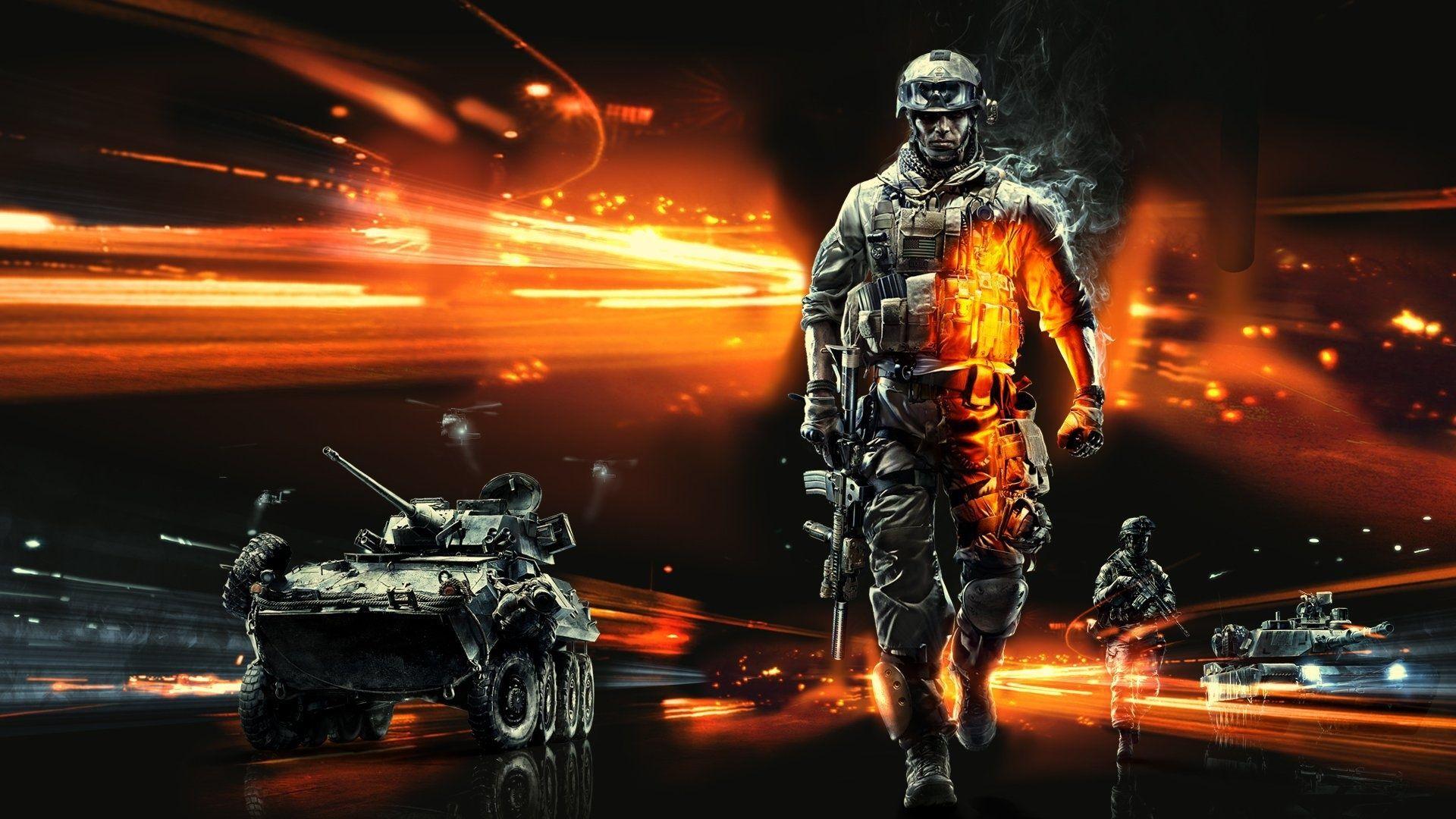 battlefield hd desktop wallpaper : widescreen : high definition