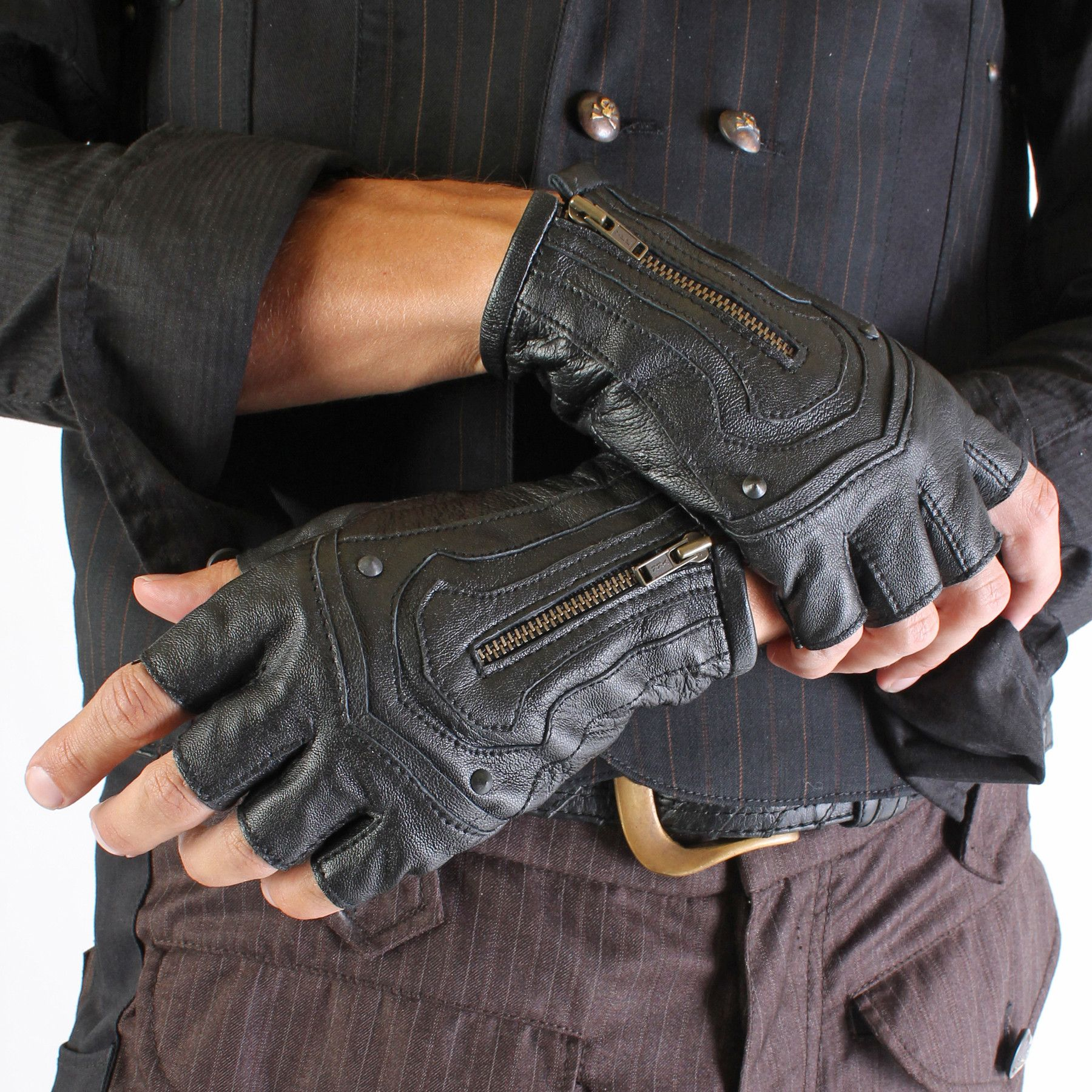 Steam Trunk Mojo Moto Riding Gloves – FIVE AND DIAMOND