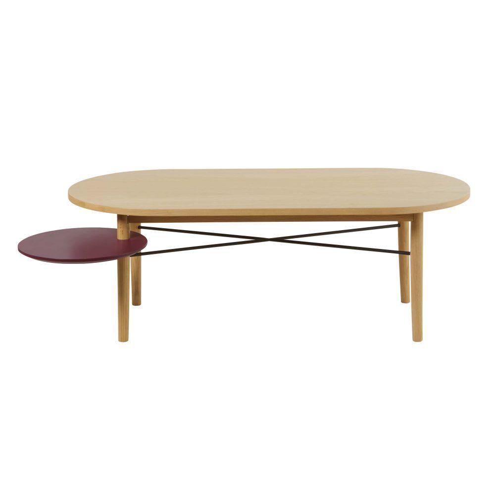 Couchtisch Mit Drehbarer Runder Tischplatte Bordeaux Tischplatte Rund Wohnzimmertische Couchtisch Schwarz
