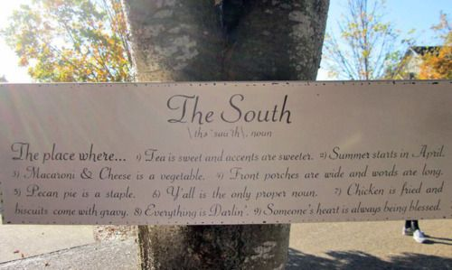 The South The Place Where Tea Is Sweet And Accents Are Sweeter