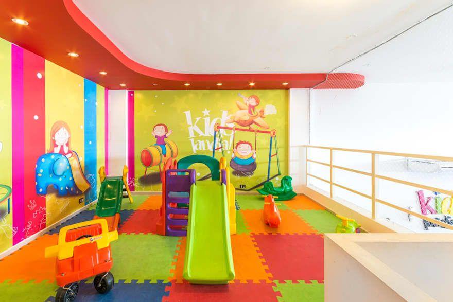 Local De Juego Para Ninos Kidslandia Homify Salon De Eventos Infantiles Sala De Juegos Para Ninos Salon De Eventos