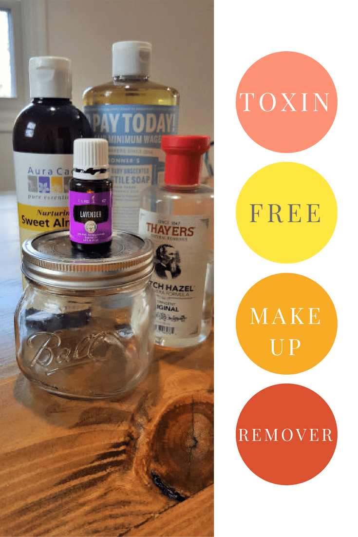 ToxinFree Makeup Remover Toxin free makeup remover, Diy