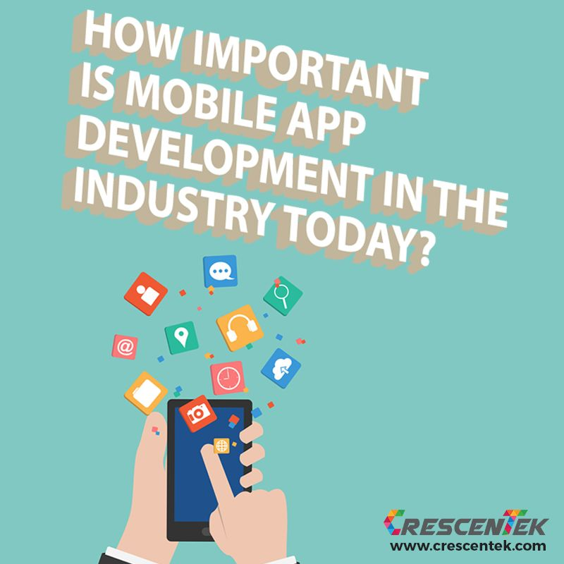 Do you think that #MobileAppDevelopment will be essential for companies today in reaching out to customers? Please comment below.