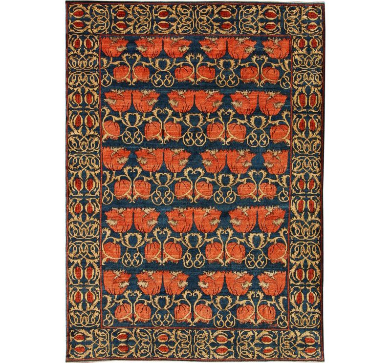 Based on a cfa voysey design from late find this pin and more on craftsman rugs curtains by craftsmanjunky orley shabahang arts