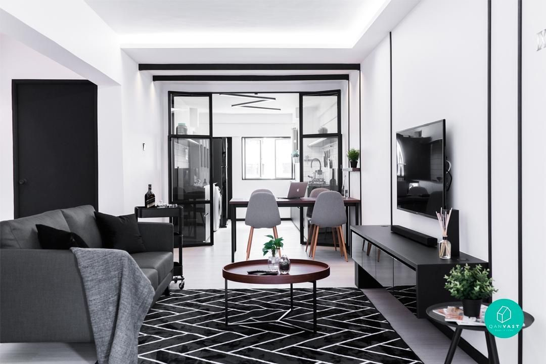 6 Reasons Why Monochrome Works Best For Your Home Monochrome Living Room Interior Design Living Room Loft Design