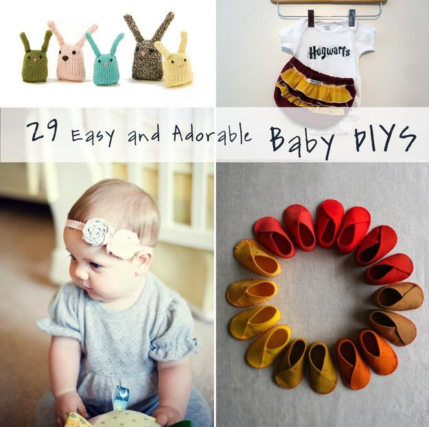 29 Easy And Adorable Things To Make For Babies | Geschenke für baby ...