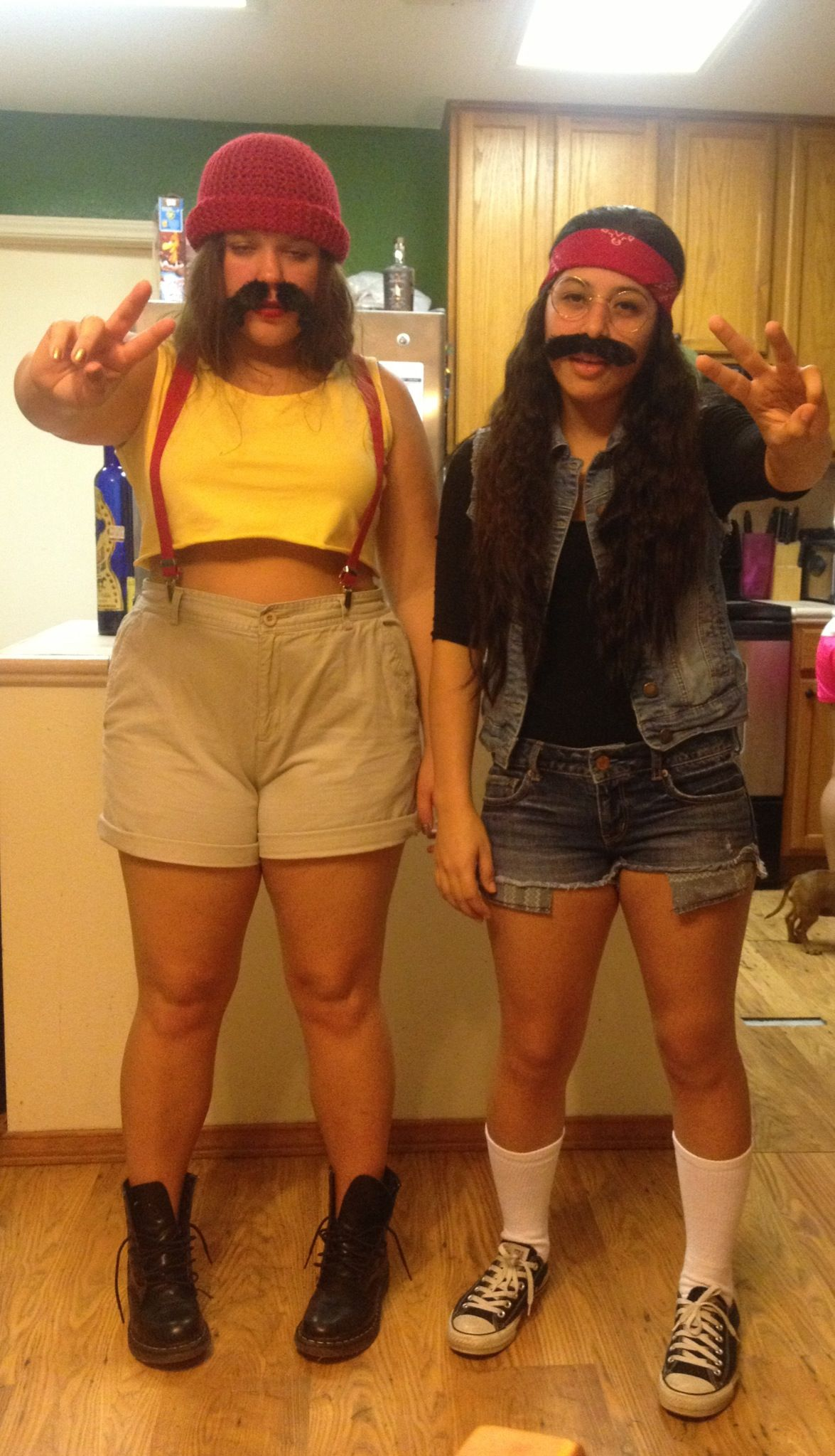cheech and chong diy halloween costumes we could look wayyyyyy better than this ha ha