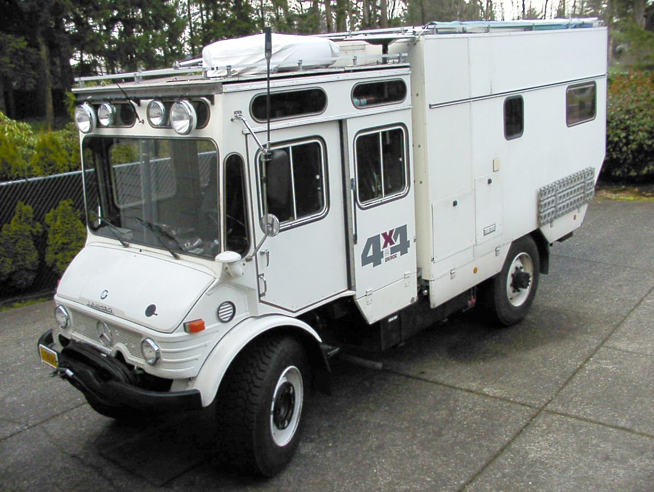 Spotted: Unimog 416-Based 4×4 Camper For Sale // West County ...