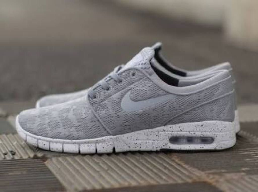 vender imán dinero  Grey Mesh Janoski Max | Best nike running shoes, Nike stefan janoski, Nike