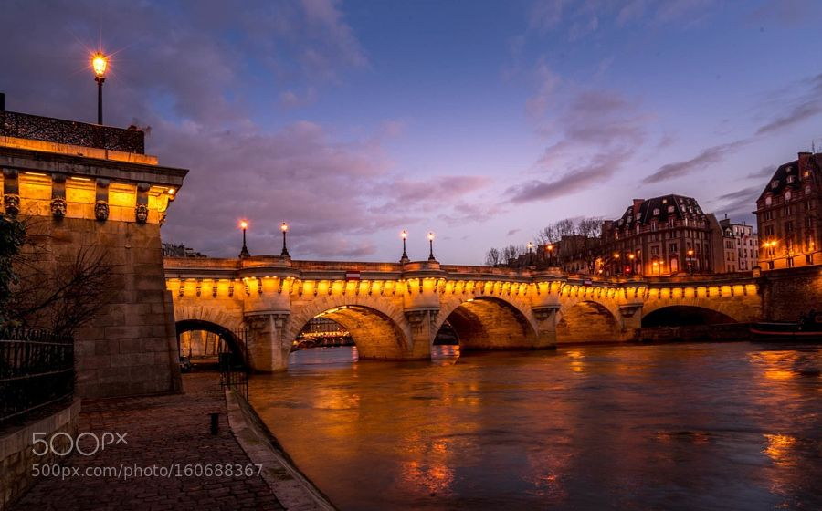 Pont Neuf Paris by RamelliSerge