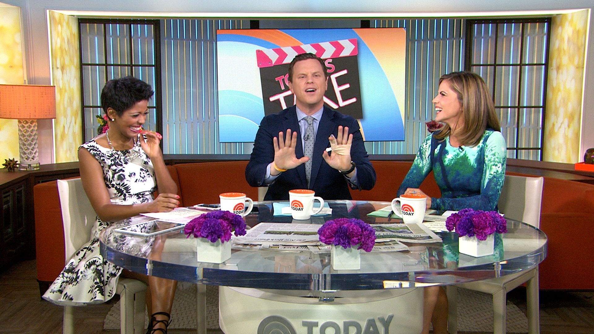 Vote to breast cancer research — a TODAY anchor will get dunked