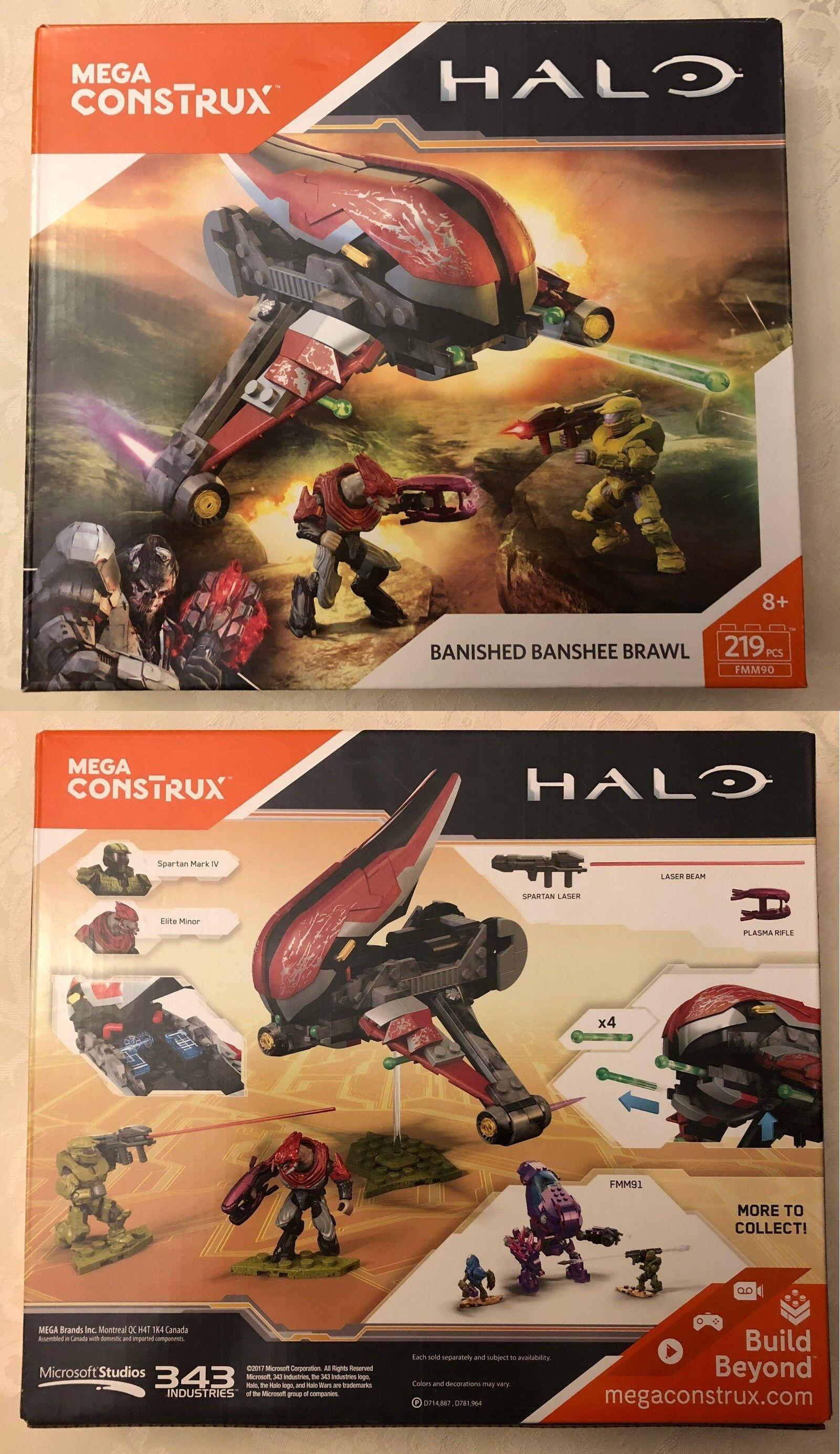 Mega Bloks Building Toys 52338: Mega Construx  Halo Banished