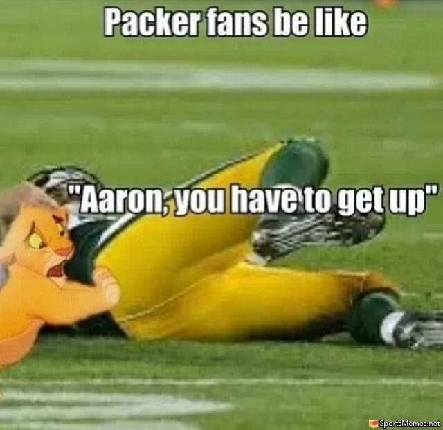 Aaron Rodgers Injury Green Bay Packers Fans Green Bay Packers Football Green Bay Packers