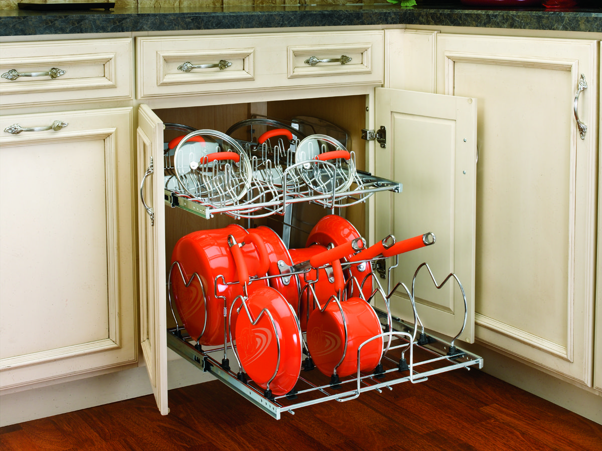 Revolutionize The Way You Store Your Pots Pans And Lids With Rev