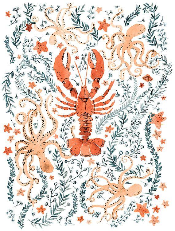 Original Watercolor Painting- Orange Wild Fowers | Malbuch für ...