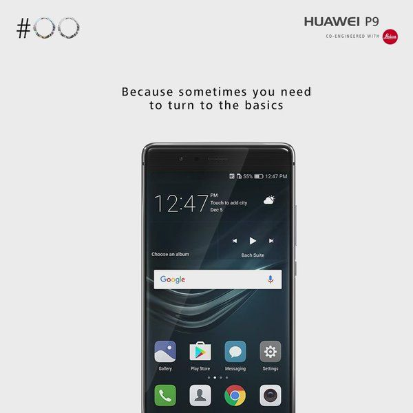 Enable the Ultra power saving mode on your Huawei P9 in times of battery  emergencies.
