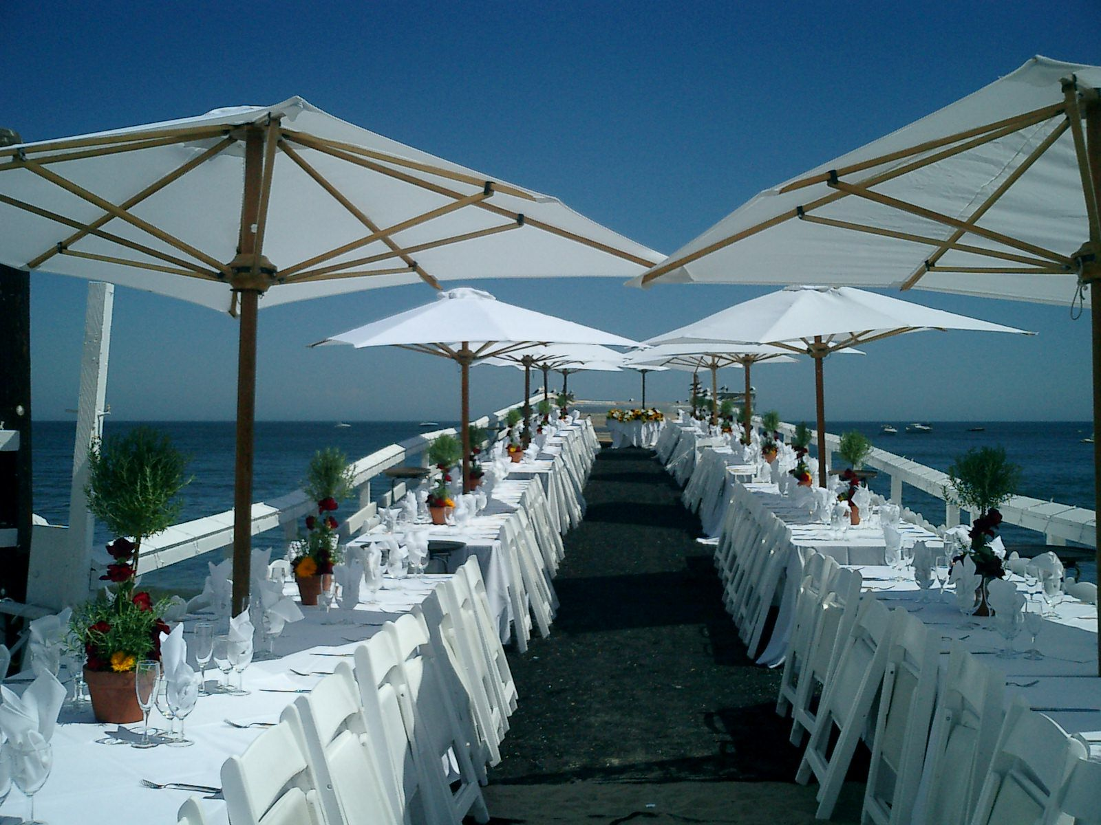 Pier Reception At Paradise Cove In Malibu Ca