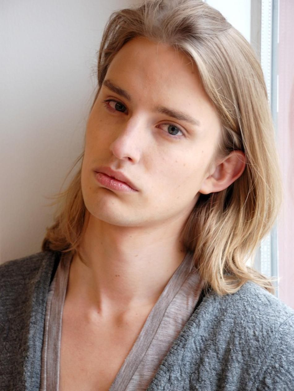 Scoopmodels Com Men Blonde Hair Green Eyes Long Hair Styles Men