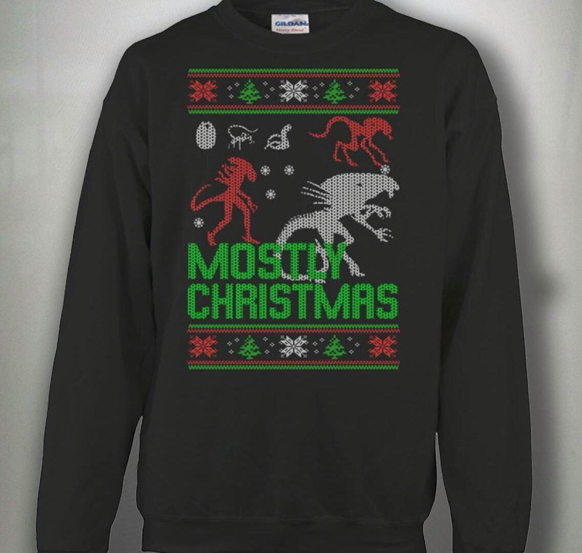 "Aliens"" Christmas Sweater 