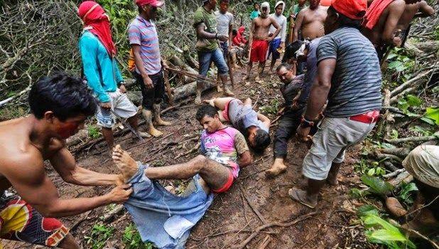 Piedra del Aguila.-: Perú: Tres meses después de los asesinatos de cuat...