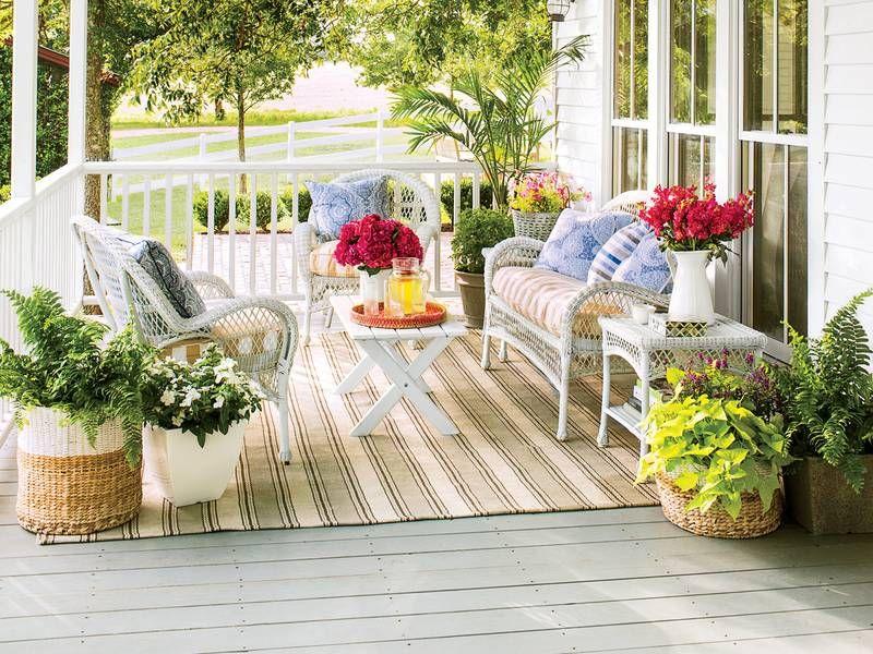 8 things every southern porch needs for spring patio on porch swing ideas inspiration id=56342